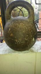 Гири - Азербайджан: 32 kg.çəki daşı.sssri