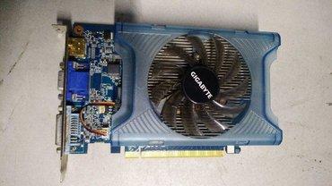 gf 210 pci e 1gb ddr3 в Кыргызстан: Видеокарта 1Gb DDR3 GIGABYTE GV-N220OC-1GI (RTL) D-Sub+DVI+HDMI