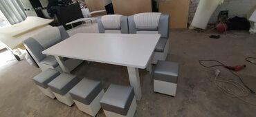 Комплекты столов и стульев - Кыргызстан: Кухонные уголки