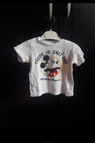 Dečiji Topići I Majice | Prokuplje: Disney Mickey mouse majica bez oštećenja Velicina 68Pogledajte i
