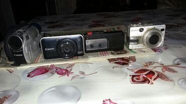 Видеокамера профессиональная - Кыргызстан: Фотоаппаратар, магнитафон, видеокамера бардыгы иштейт жалпы баасы 7