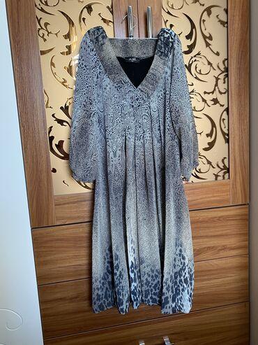 Турецкое шефоновое платье