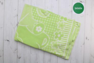 Декор для дома - Украина: Дитяча ковдра зелена    Колір зелений Матеріал 100% бавовна  Стан гарн