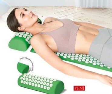 Akupunktur masaj rolleri.1) Metobolik prosesleri aktivlesdirir. 2)