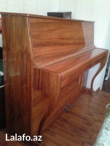 Bakı şəhərində Wagner piano - ideal veziyyetde qorunub saxlanmış aletdir.