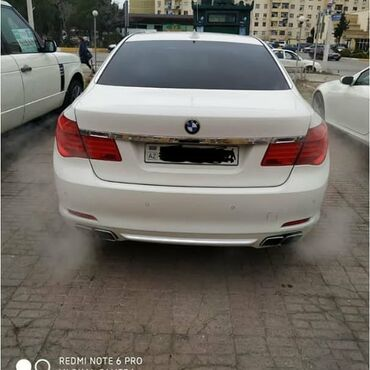 bmw-7-серия-745i-at - Azərbaycan: BMW 7 series 5 l. 2008 | 359000 km