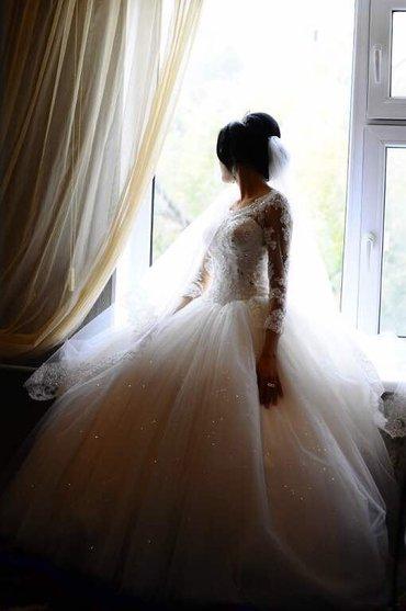 черное платье вышитое бисером в Кыргызстан: Продаю или сдаю на прокат свадебное платье производство италия