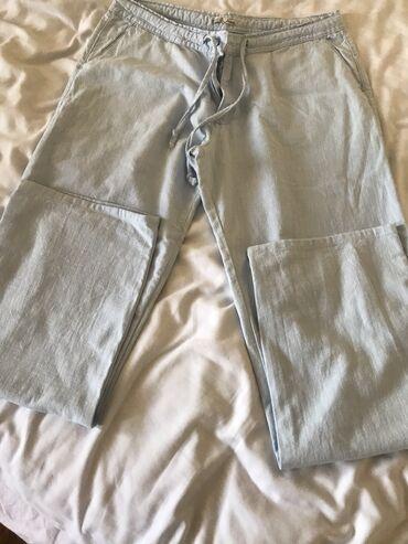 Personalni proizvodi | Kraljevo: Lanene pantalone nove vel 42 100% pamuk