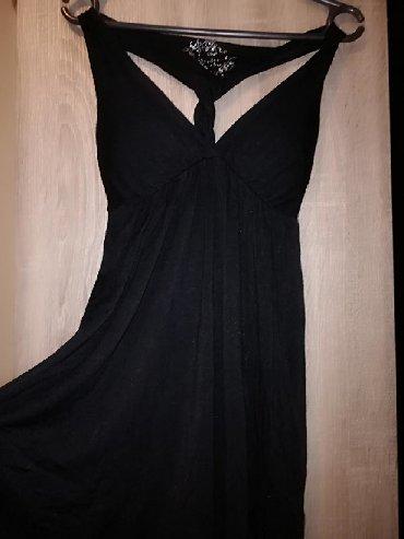 Haljine - Pancevo: Firmirana nova haljina intezivno crnaSavršen modelJaaaako