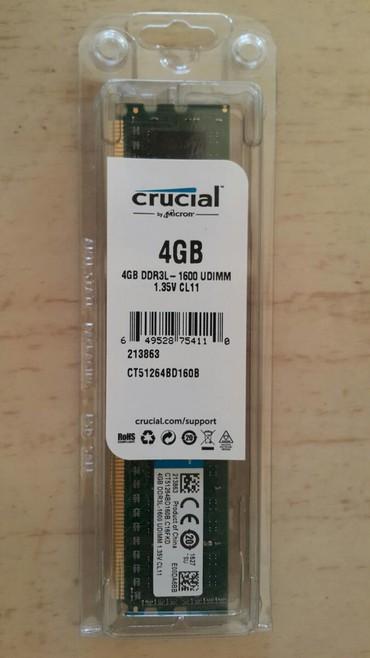 amd 4 gb - Azərbaycan: DDR3 4 GB Yenidir Anbarda 1 ədəd qalıb