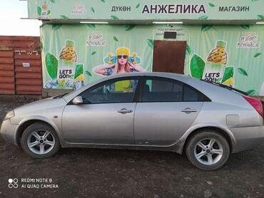 8 пик в Кыргызстан: Nissan Primera 1.8 л. 2002