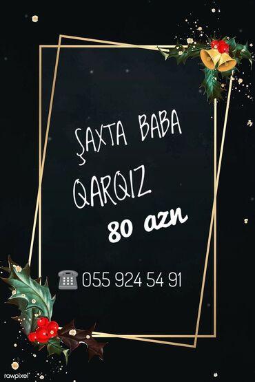 saxta baba paltari - Azərbaycan: Şaxta baba Qarqızı evlere