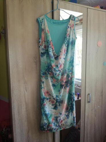 Ženska odeća | Bujanovac: Zenska haljina vel L. Nova,nošena jedno. Elasticna,tako da može da