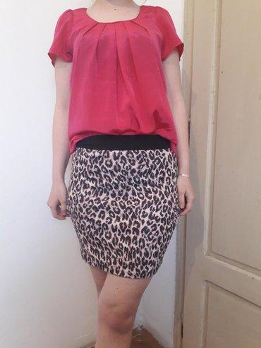 Tigrasta suknjica za sve vase prilike