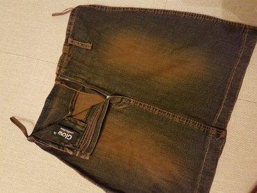 Модная джинсовая юбочка,размер S. в Лебединовка