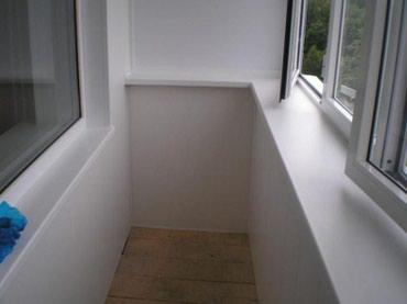 Внутренняя отделка балконов и лоджий в Лебединовка