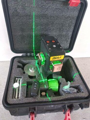 Инструменты - Кыргызстан: Продаю новый лазерный уровень 3 d