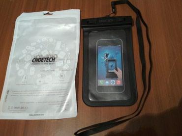"""защитное стекло lenovo в Азербайджан: Telefon üçün """"CHOETECH"""" Firmasının su keçirməyən çantası satılır"""