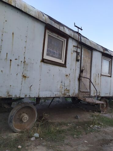 есть на доме и вагоне в Кыргызстан: Продаю дом вагон на колесах вагон утеплённый жить можно или меняю на