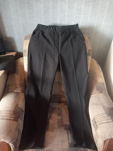 Продаю брюки женские классические. Размер 48. Цвет черный. Цена 600сом