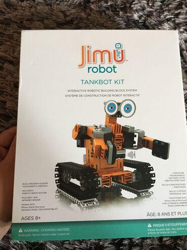 JİMU ROBOT TANKBOT AĞILLI ROBOT 340 manata alınıb heç işlenilmeyib