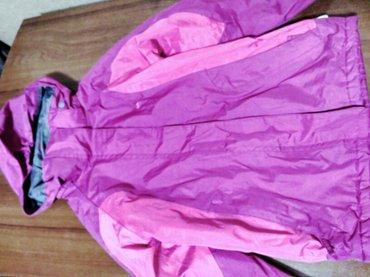 Куртка лыжная фирменная, утеплённая флисом. В хор.сост. в Бишкек