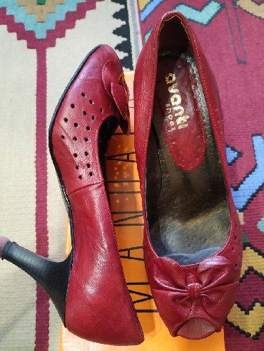 синие туфли на каблуках в Кыргызстан: Женские туфли 38
