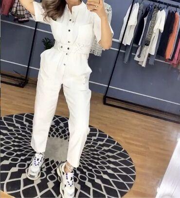 джинсовое платье на пуговицах в Кыргызстан: Джинсовый комбинезон Balenciaga пару раз одела
