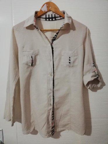 Lagana košulja, prijatnog materijala, očuvana dobro, ima rukave koji - Obrenovac