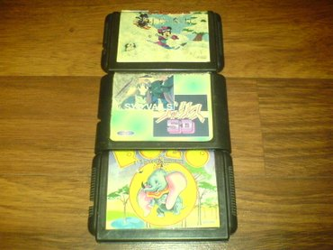Bakı şəhərində Sega ucun kasetler satiram en maraqli ve tapilmayan oyunlardi taito,- şəkil 3