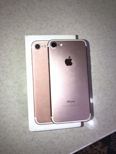 Apple Iphone - Состояние: Б/У - Бишкек: Б/У iPhone 7 32 ГБ