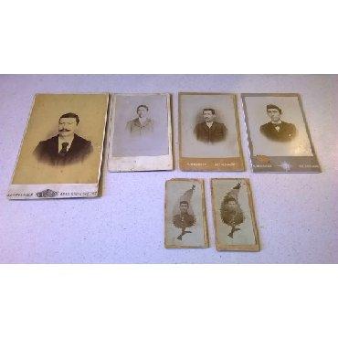 6 Χοντροχάρτονες Φωτογραφίες.Διαστάσεις από αριστερά: 16,5 x 11