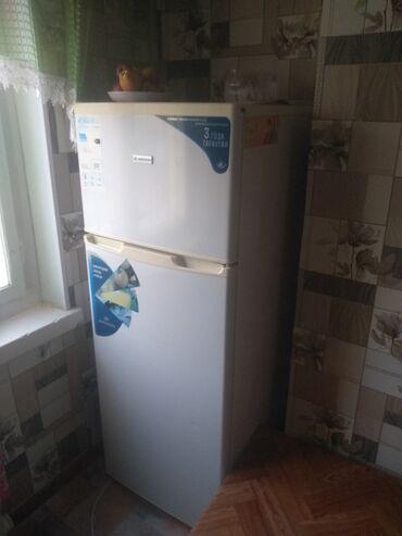 авангард билдинг в Кыргызстан: Б/у Однокамерный Белый холодильник
