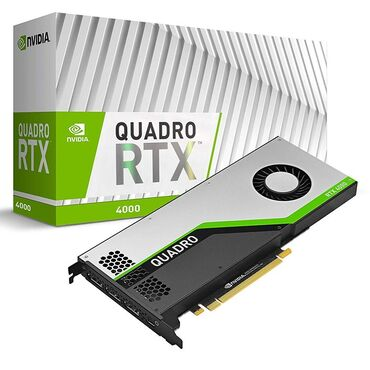 Quadro RTX 4000 8Gb. Профессиональная карта для видеомонтажа, 3D