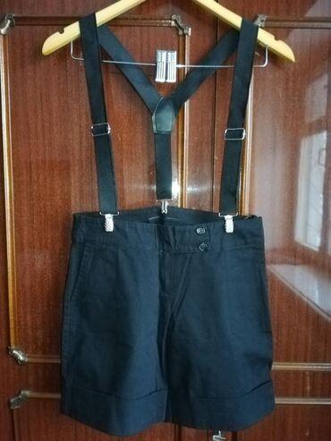 Шорты - Кыргызстан: Шорты с подтяжкамиПодростковые для девочкиРазмер 36Джинсы для девочки