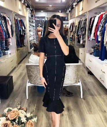 платье футляр большого размера в Кыргызстан: Продаю платье ФУТЛЯР Состояние: новое Размер: М Цвет: чёрный