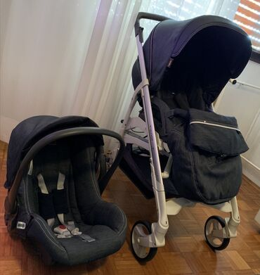 Inglesina kolica za bebe, sa jajetom. Model kolica - Inglesina trilogy