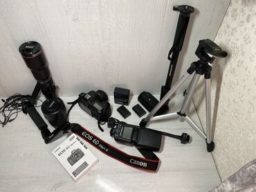 canon-mark-2-5d-цена в Кыргызстан: Canon 6D Mark II + дополнительные инструменты (все в очень хорошем сос