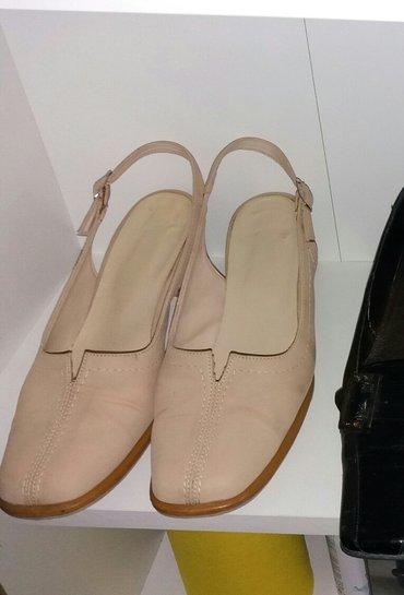 Zenske cipele prevrnuta koža br. 40 - Smederevo