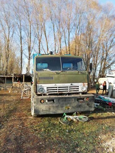 Туй голубые ели - Кыргызстан: Продаю камаз 4208, 1991 гвдвигатель, акп, мосты идеалны. В хорошем