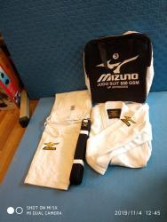 judo - Azərbaycan: Judo kimanosu mizuna-550 qramliq pambiq parcadan hazirlanib.istehsal
