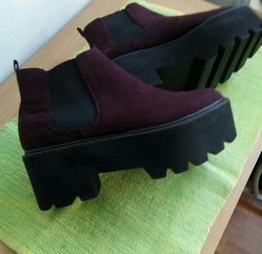 Prelepe cipele gleznjace na platformu. Velicina 37, (23,5cm), visina - Belgrade