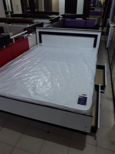 Кровать 2х спал. размер 2м на 1.50м. в Novopokrovka
