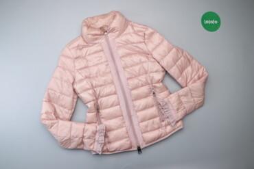Жіноча демісезонна куртка з рюшами на рукавах Motivi, p. M    Довжина