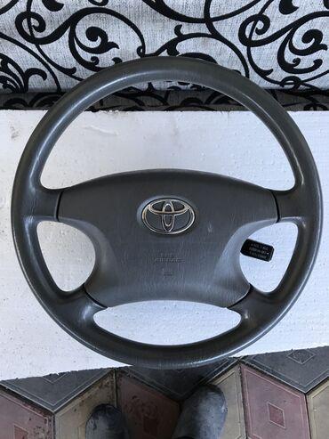 Продаю руль Тойота Камри 30, Camry 30 аирбаг целый, круиз контроль