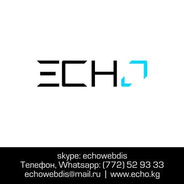 Создание сайта с нуля на выгодных условиях echo. Kg. опыт работы в Бишкек