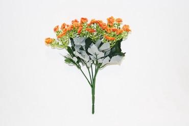 флорариумы на в Кыргызстан: Ромашка мелкоцвет (муляж) на кустике 6 веток, на ветке 7
