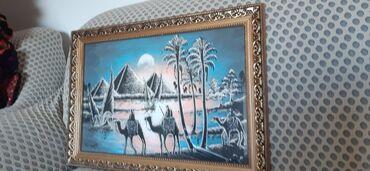 Декор для дома - Кара-Балта: Шикарные Египетские новые картинки. Рамка стекло. Длина 70см. Фосфор