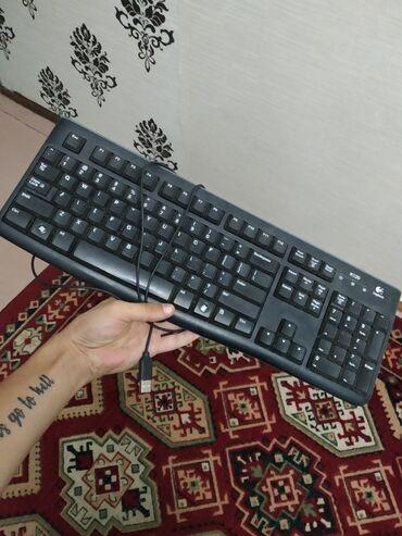 Клавиатуры в Кыргызстан: Продаю клавиатуру, абсолютно рабочая USB разъём