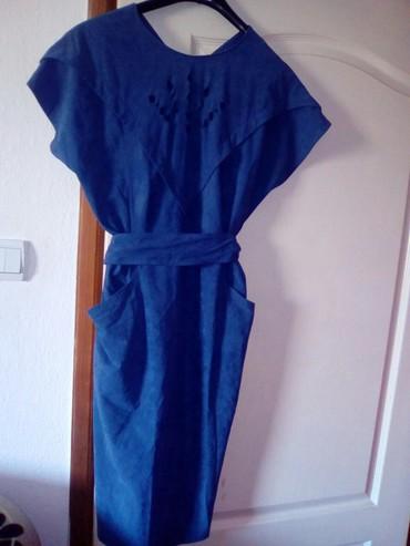 Haljina nova sa kaisem...prelepo stoji..od velura.... - Vranje